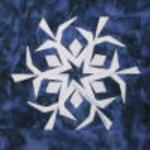 washington snowflake quilt block