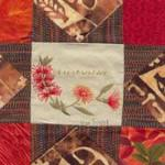 Australia international quilt block