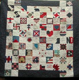 9/11 Breast Cancer charity quilt