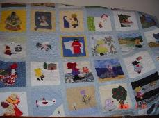 nifty fifty sunbonnet sue quilt