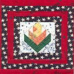 illinois usa quilt block