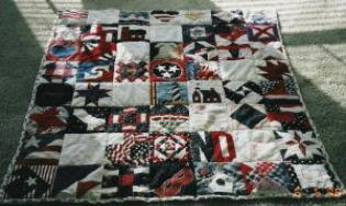 september 11, 2001 nifty fifty quilt