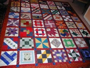 nifty fifty scrappy quilt