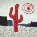 catus arizona quilt block