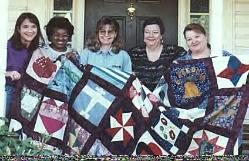 international breast cancer charity quilt