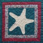 alabama starfish quilt block