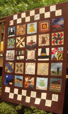 Revoluntionary War Thirteen Colonies Quilt