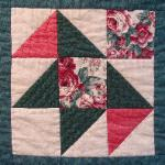 flordia flying geese quilt block