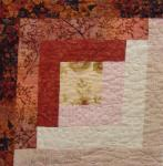 illinois log cabin quilt block