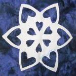 michigan snowflake quilt block