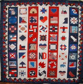 9/11 nifty fifty quilt