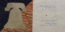 pennsylvania september 11, 2001 quilt block
