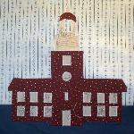 constitution hall philiadephia quilt block