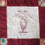 south dakota redwork quilt block