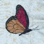 south carolina butterfly quilt block
