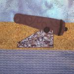 thirteen colonies south carolina cannon quilt block