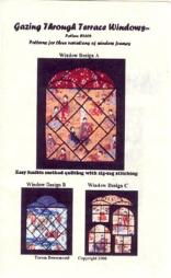 terrace window wall hanging quilt pattern