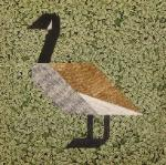 canadian geese quilt block