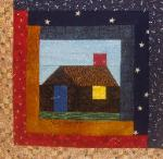 pennsylvania log cabin quilt block